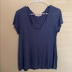 Urban Outfitters cross front top!